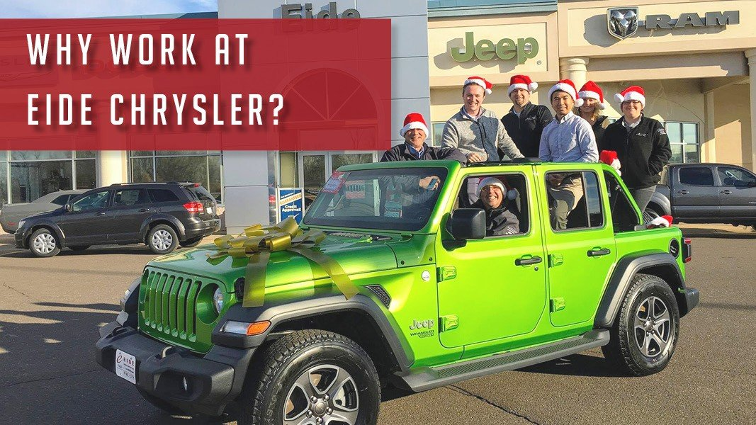 Why work at Eide Chrysler?