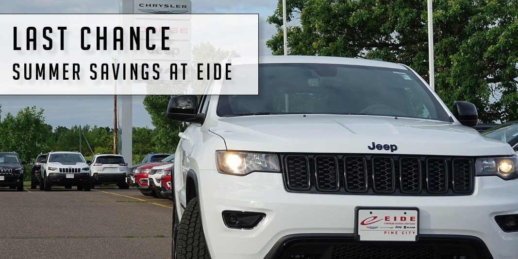 Summer savings at Eide!