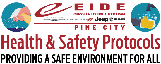 Eide Chrysler Pine City Health and Safety Protocols