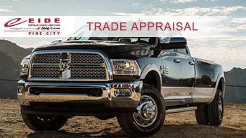 Eide CDJR Pine City Friendly Trade Appraisal