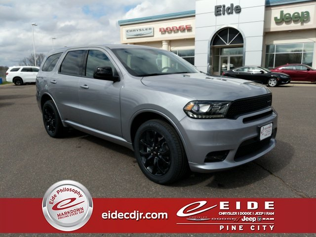 Lease this 2019, Silver, Dodge, Durango, GT