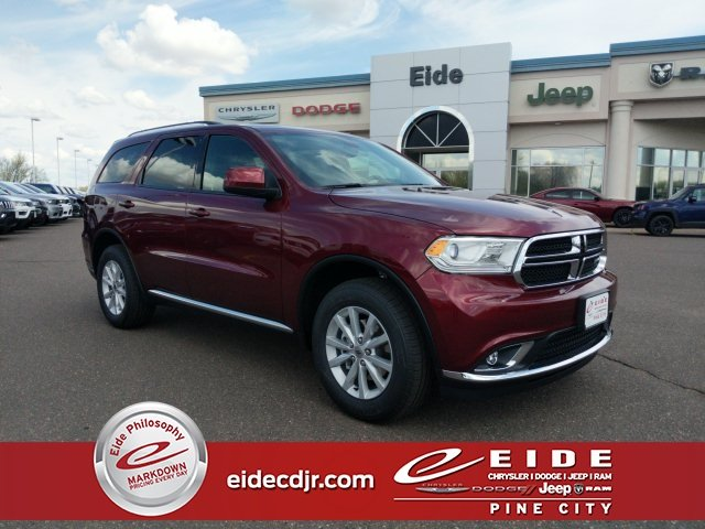 Lease this 2019, Red, Dodge, Durango, SXT Plus