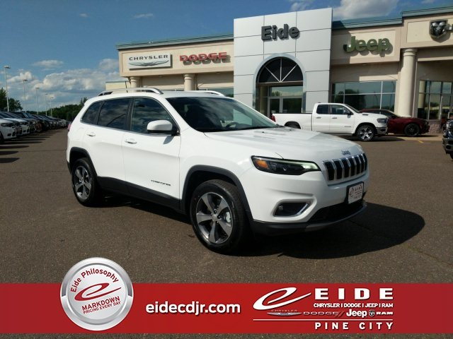 Lease this 2019, White, Jeep, Cherokee, Limited