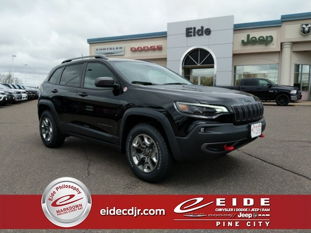 Lease this 2019, Black, Jeep, Cherokee, Trailhawk