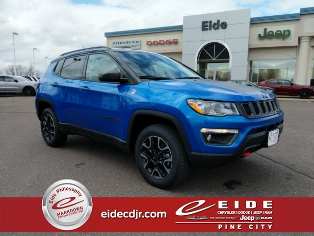 Lease this 2019, Blue, Jeep, Compass, Trailhawk