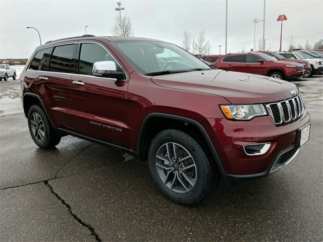 Lease this 2019, Red, Jeep, Grand Cherokee, Limited