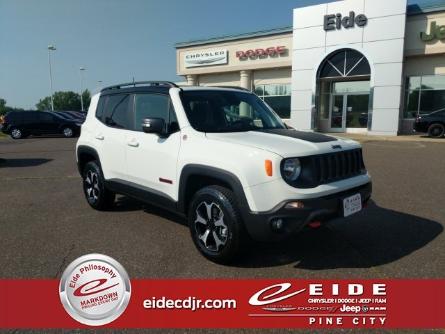 Lease this 2019, White, Jeep, Renegade, Trailhawk