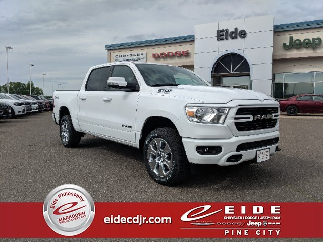 Lease this 2019, White, Ram, 1500, Big Horn North Edition