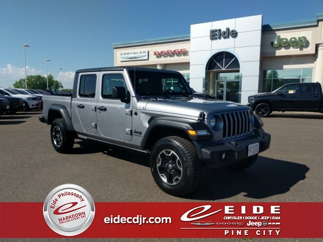Lease this 2020, Silver, Jeep, Gladiator, Sport S