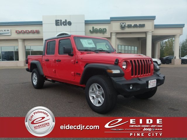 Lease this 2020, Red, Jeep, Gladiator, Sport S