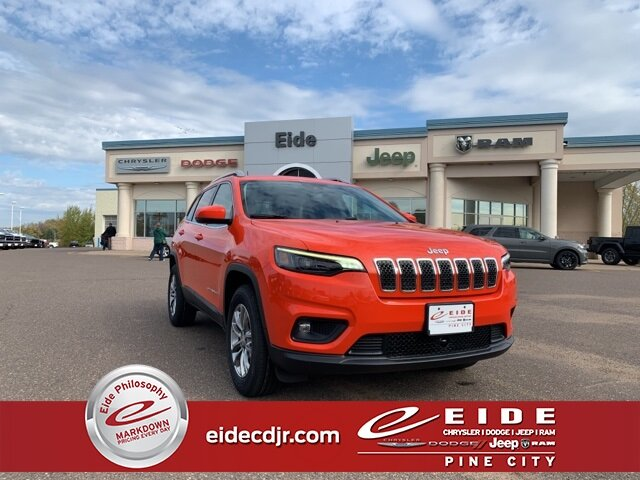 Lease this 2021, Orange, Jeep, Cherokee, Latitude Lux