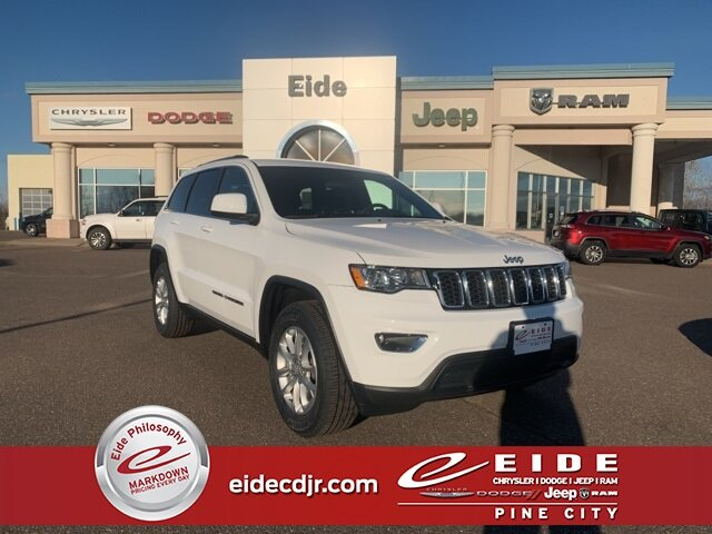 Lease this 2021, White, Jeep, Grand Cherokee, Laredo