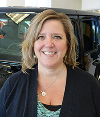 Sales Consultant Lisa Horst in Sales at Eide CDJR Pine City