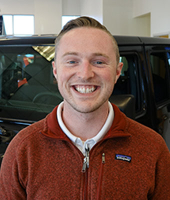 Sales Consultant Kody Hughes in Sales at Eide CDJR Pine City