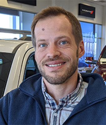 Sales Consultant Brody Beise in Sales at Eide CDJR Pine City