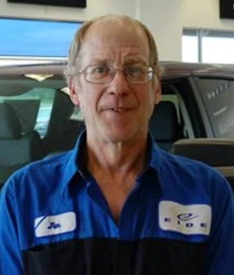 Technician James Swanson in Service at Eide CDJR Pine City