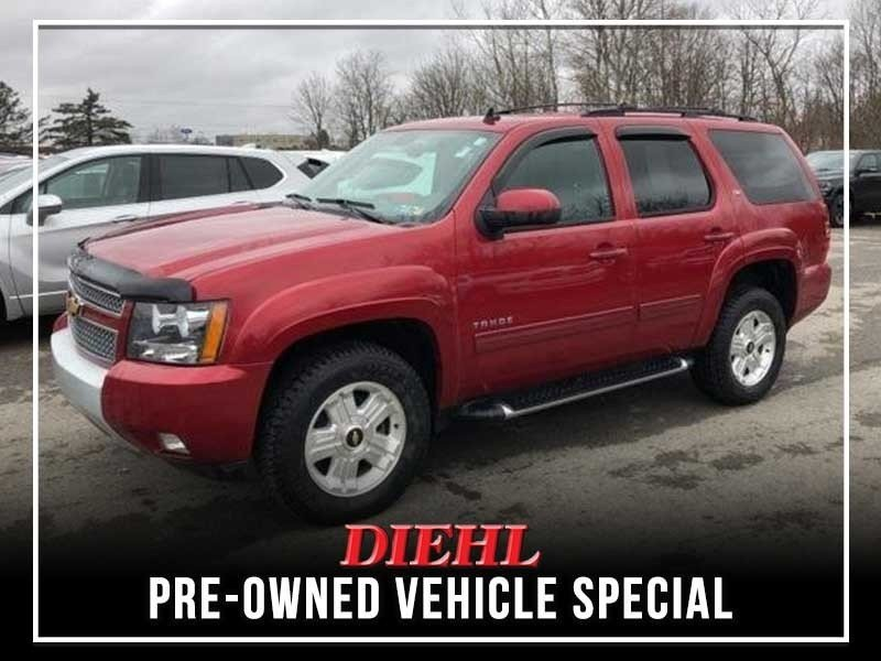 Special offer on 0   Pre-owned 2012 Chevy Tahoe LT