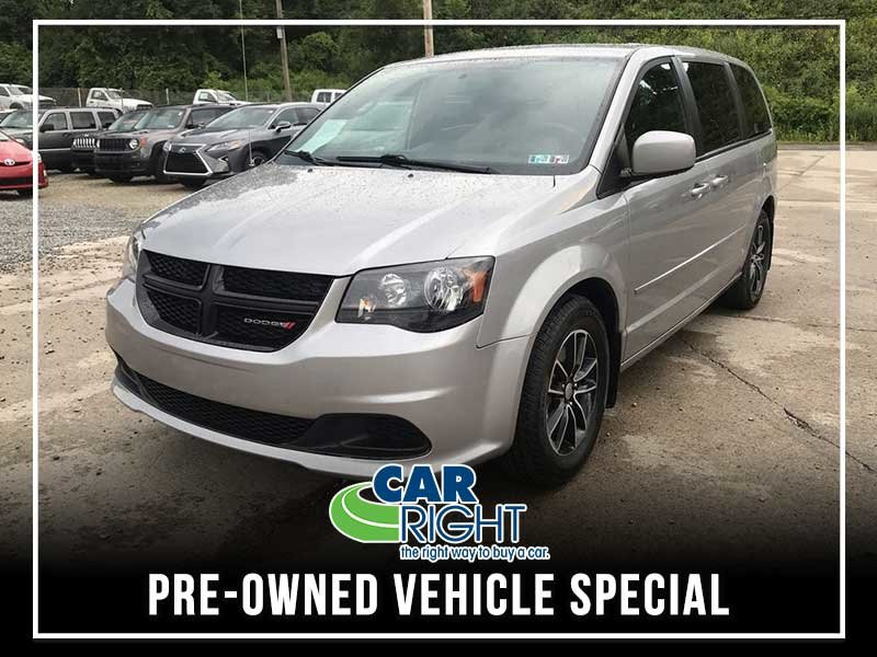Special offer on 0   CERTIFIED PRE-OWNED 2017 DODGE GRAND CARAVAN SE FW