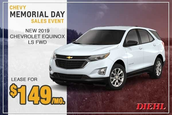 Special offer on 0   New 2018 Chevy Equinox LS FWD