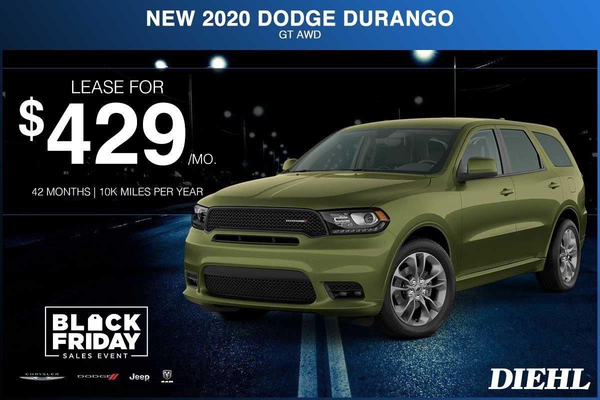 Special offer on 2020 Dodge Durango NEW 2020 DODGE DURANGO GT AWD