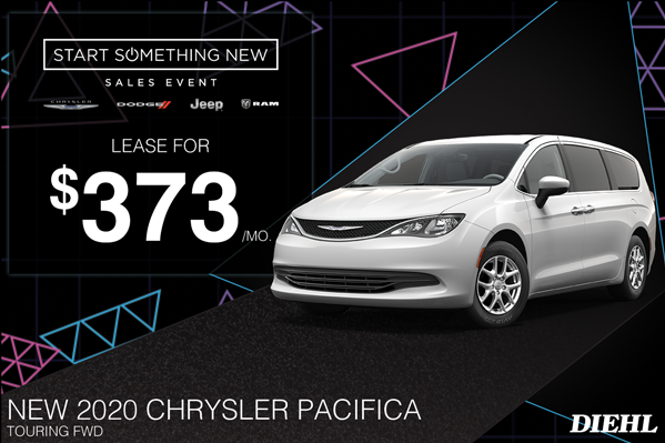 Special offer on 2020 Chrysler Pacifica 2020 PACIFICA