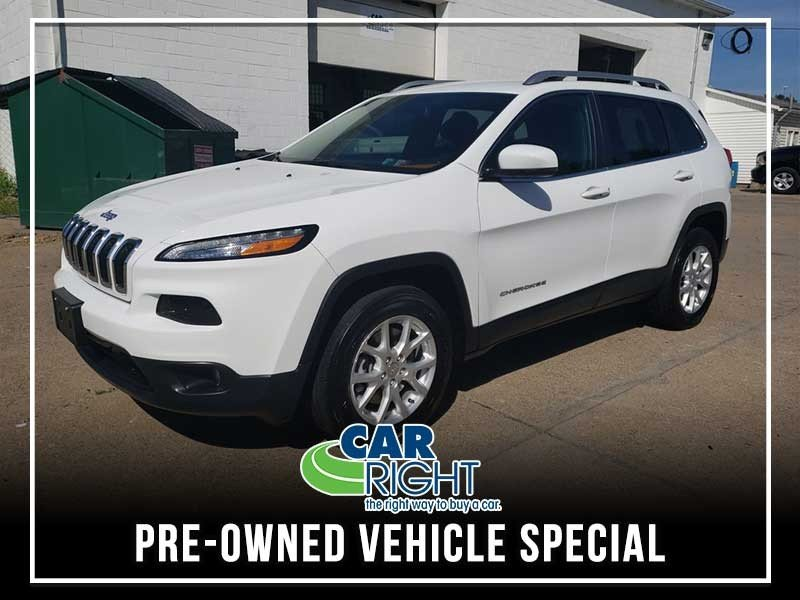 Special offer on 0   CERTIFIED PRE-OWNED 2016 JEEP CHEROKEE LATITUDE 4X