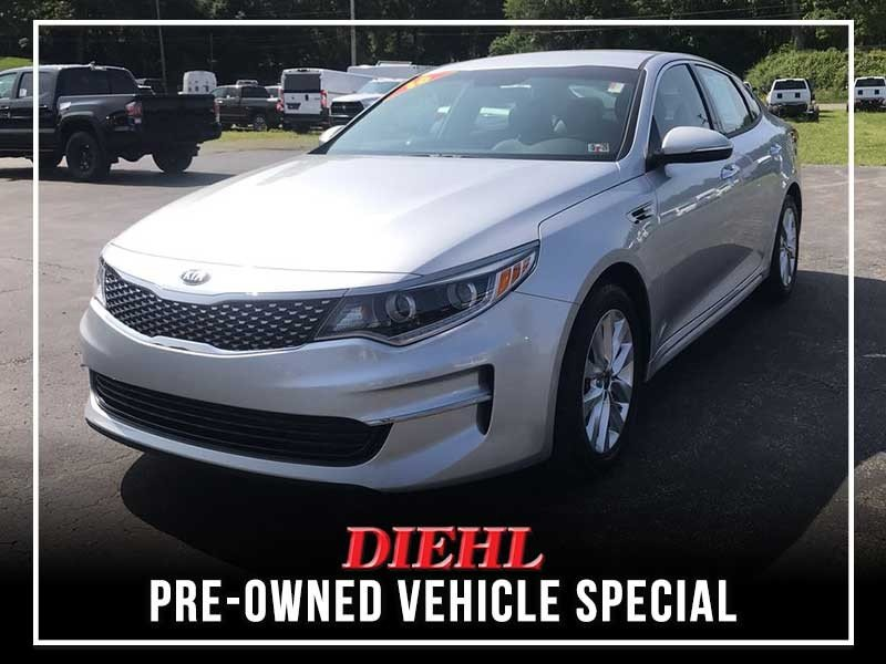 Special offer on 0   PRE-OWNED 2016 KIA OPTIMA EX