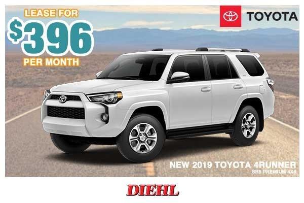 Special offer on 0   NEW 2019 TOYOTA 4RUNNER SR5 PREMIUM