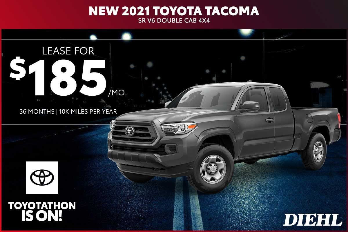 Special offer on 2020 Toyota Tacoma 4WD NEW 2021 TOYOTA TACOMA SR5 DOUBLE CAB 4X4