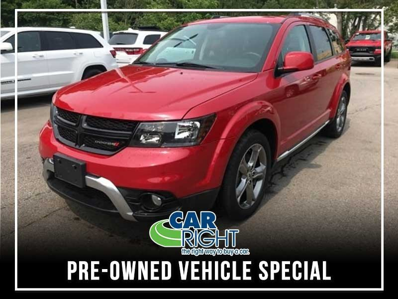 Special offer on 0   CERTIFIED PRE-OWNED 2018 DODGE JOURNEY CROSSROAD A