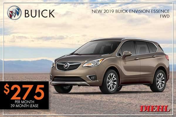 Special offer on 0   NEW 2019 BUICK ENVISION ESSENCE FWD