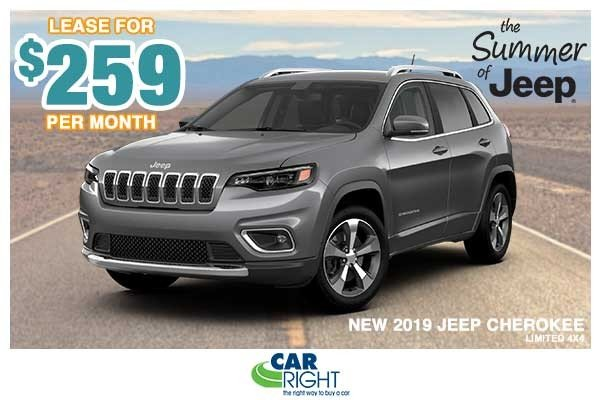 Special offer on 0   NEW 2019 JEEP CHEROKEE LIMITED