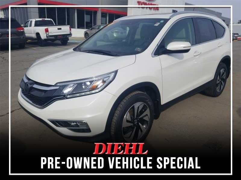 Special offer on 0   PRE-OWNED 2016 HONDA CR-V TOURING AWD