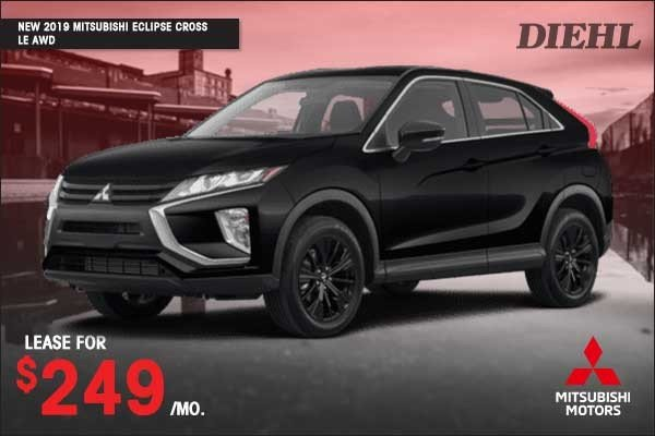 Special offer on 2019 Mitsubishi Eclipse Cross NEW 2019 MITSUBISHI ECLIPSE CROSS LE 4X4
