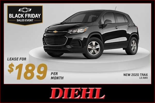 Special offer on 2020 Chevrolet Trax NEW 2020 CHEVY TRAX LS AWD