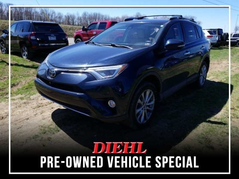 Special offer on 0   PRE-OWNED 2017 TOYOTA RAV4 LIMITED