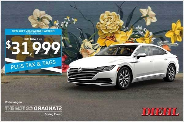 Special offer on 0   NEW 2019 VOLKSWAGEN ARTEON 2.0T SE 4MOTION AWD