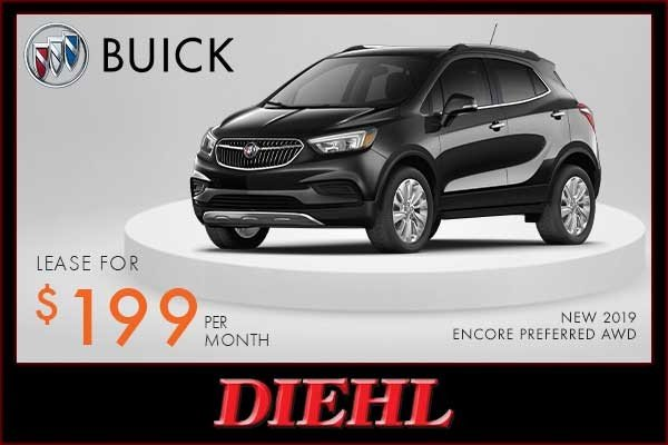Special offer on 2019 Buick Encore NEW 2019 BUICK ENCORE PREFERRED AWD