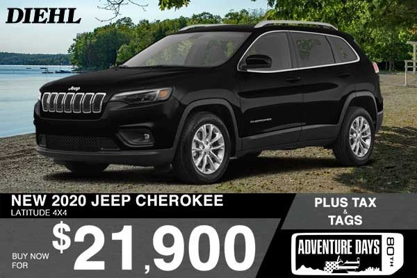Special offer on 0   NEW 2020 JEEP CHEROKEE LATITUDE 4X4