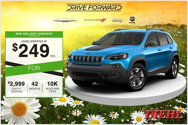 Special offer on 2020 Jeep Cherokee New 2020 Jeep Cherokee Trailhawk 4x4