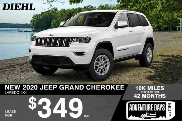 Special offer on 2020 Jeep Grand Cherokee NEW 2020 JEEP GRAND CHEROKEE LAREDO 4X4
