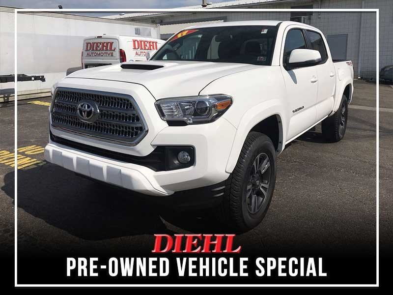 Special offer on 0   PRE-OWNED 2017 TOYOTA TACOMA TRD SPORT 4WD