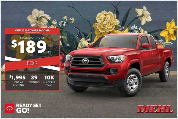 Special offer on 2020 Toyota Tacoma 4WD NEW 2020 TOYOTA TACOMA SR DOUBLE CAB 4X4