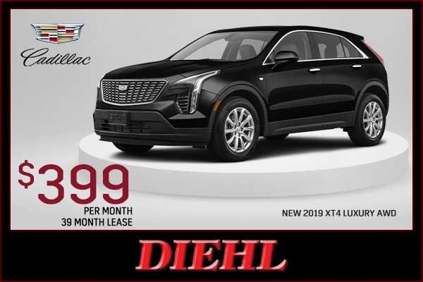 Special offer on 2019 Cadillac XT4 NEW 2019 CADILLAC XT4 LUXURY AWD