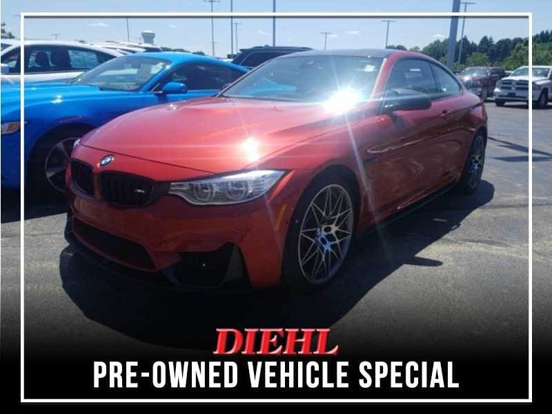 Special offer on 0   PRE-OWNED 2017 BMW M4