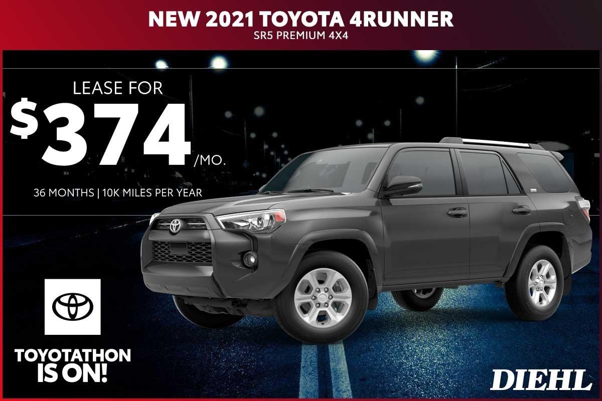 Special offer on 2020 Toyota 4Runner NEW 2021 TOYOTA 4RUNNER SR5 PREMIUM 4X4