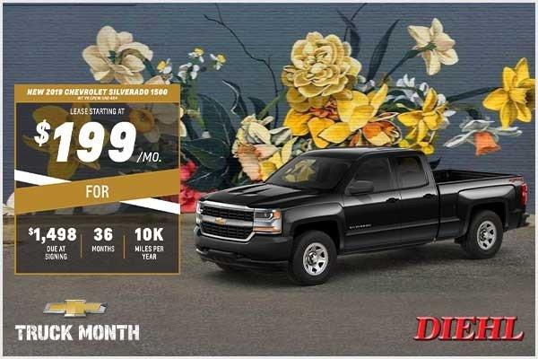 Special offer on 2019 Chevrolet Silverado 1500 NEW 2019 CHEVROLET SILVERADO 1500 WT V6 CREW CAB 4