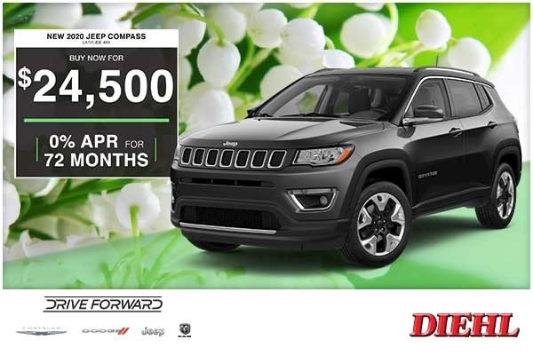 Special offer on 0   NEW 2020 JEEP COMPASS LATITUDE 4×4