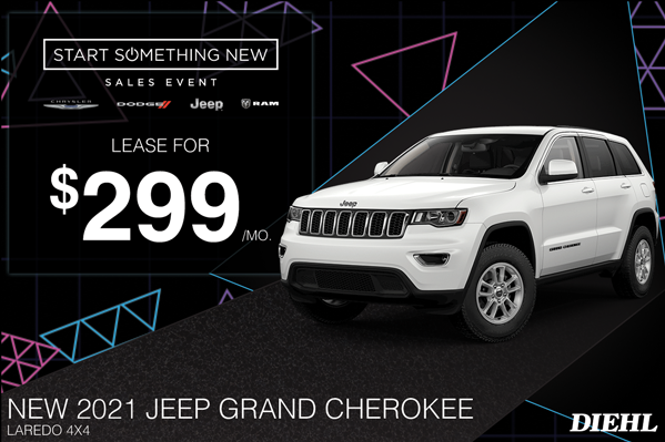 Special offer on 2021 Jeep Grand Cherokee 2021 GRAND CHEROKEE