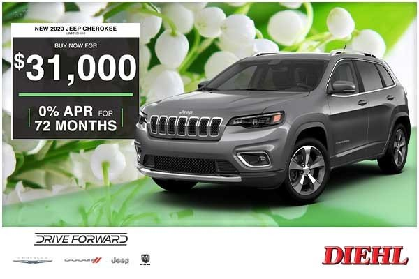 Special offer on 0   NEW 2020 JEEP CHEROKEE LIMITED 4×4
